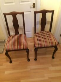 Reproduction Qeen Ann Chairs