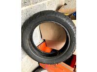 vespa gts tyre - almost new - Michelin City Grip (120/70/12)