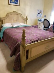 Beautiful Double Bed - Solid Wood