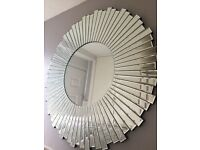 Next facet wheel mirror