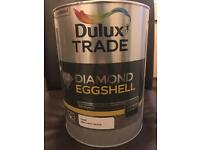 NEW DULUX DIAMOND EGGSHELL PURE BRILLIANT WHITE