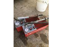 Rothenberger rp 50-s pressure test pump plumber