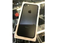 iPhone 7 32GB Matte Black, Unlocked / Sim Free, Refurbished - Like New, 9-11 Months Apple Warranty