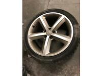 "Genuine Audi A4 B8/8.5 18"" S Line allot wheels"