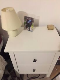 Bedside Tables & Chest of Draws (all matching)