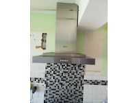 Neff Gas Hob and Chimney Style Cooker Hood