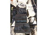 85 granite setts
