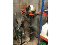Post hole borer petrol new unused