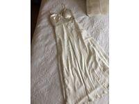 Debut Prom/ Wedding / Cruise / Evening Dress Size 10 £25