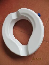 Aidapt Senator Raised Toilet Seat 2 inch Elevated Mobility Aid