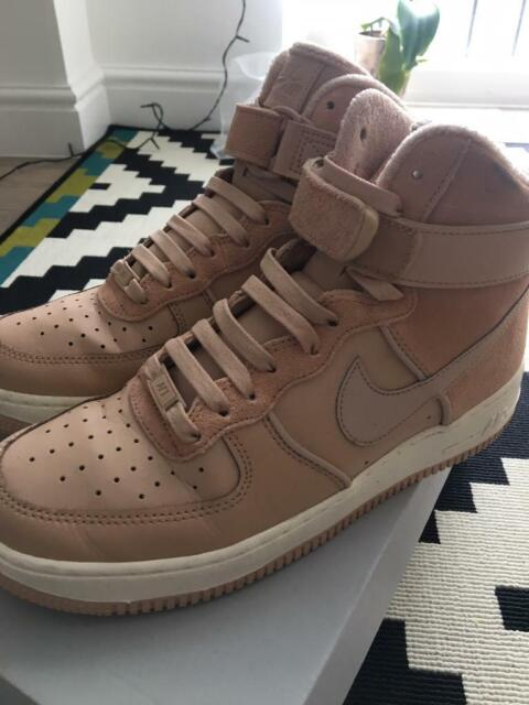 sneakers for cheap d64c7 448cf MNike Air Force 1 - Beige Sail - UK 7.5 (Women s)