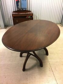 VINTAGE 1960'S BENTWOOD DINING TABLE