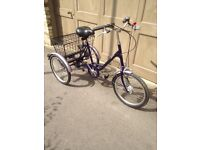 Pashley Picador tricycle in great condition, serviced with 1 months warranty.