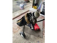 Set off golf clubs with Trolly's 2 set available
