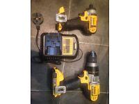 Dewalt impact driver and drill 18volt