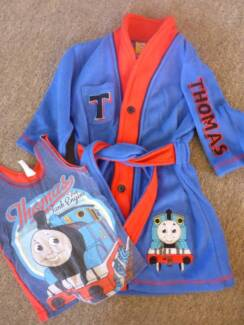 Thomas the Tank Engine DRESSING GOWN + Bonus Singlet - size 2 Albany Creek Brisbane North East Preview