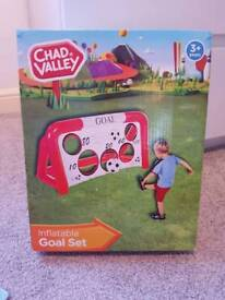 Chad Valley Inflatable Goal