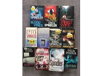 Books - thrillers, adults, crime