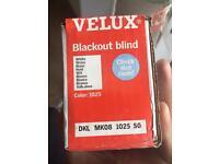 Velux Blackout blinds. Brand New