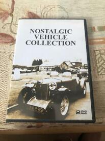 Nostalgic Vehicle Collection DVD's