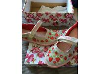 Lellikelly sparkles strawberry shoes