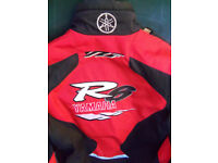Yamaha YZF R6 motorcycle jacket removable sleeves size XL