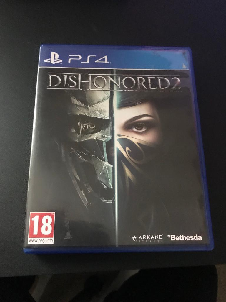 Dishonored 2 PS4 game | in Plymouth, Devon | Gumtree