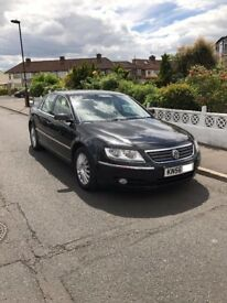 VW Phaeton 3.0 TDI V6 4Motion 4dr (5 Seats). Diesel Auto/Manual Mode combi. Sat Nav. 83K Mileage.