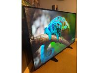 """Philips 55"""" 4K Ultra Slimline Ultra Hd Smart Tv With Remote & Stand Excellent Condition"""