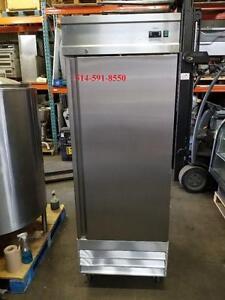Frigo , Frigidaire , Fridge , Refrigerator , Commercial , 1 Porte Door Stainless Inox Commer Neuve