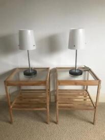 Ikea Nesna Bedside Table (Pair)