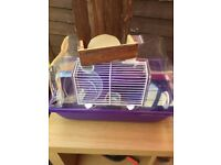 Small Hamster Cage & Accessories