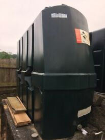 1220Litre Single Skin oil tank