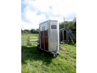 Ifor Williams HB510 Double Horse Trailer