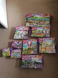Lots of lego friends for sale