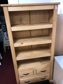 wood bookcase - large
