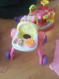 3 in one vtech pushchair