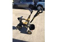 Smart Trike Dream 4-in-1 Touch Steering Trike - Gold