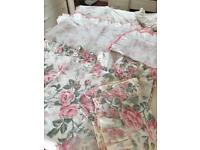 3 sets of floral double quilt covers.