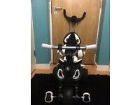 Great condition City Max Trike In Black And White