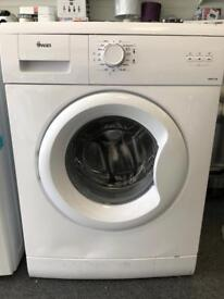 6 kg swan washing machine for only £80