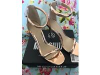 New Misguided Heels Size 7