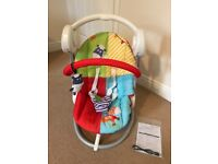 Baby Dream Swing - mamas and papas - full instructions and cables included bright colourful
