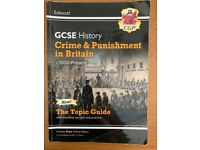 G.C.S.E Science, History and English textbooks