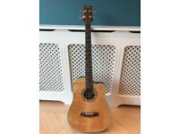 Stagg AB203MCE-N Electric-Acoustic Bass Guitar