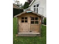 CHILDRENS WOODEN PLAYHOUSE - IMMACULATE