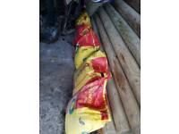 6 bags of postcrete