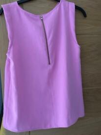 River Island Top Pink 10