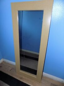 LONG WALL MIRROR ONLY £10!!!!