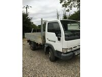 Nissan Cabstar 51 reg only done 58,000 miles